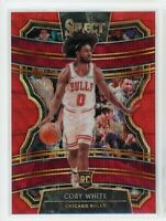 2019-20 Coby White Panini Select Red Wave Tmall Rookie RC