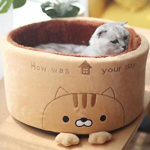 Pet Bed Nonslip Warm Soft Pet Cushion Cat Dog Kitten Puppy Sleeping Nest
