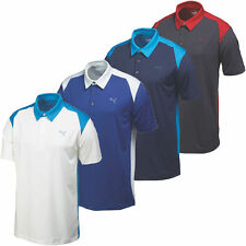 PUMA Polyester Short Sleeve Casual Shirts & Tops for Men