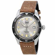 Oris 01 733 7720 4051-07 5 21 02 Men's Divers Sixty-Five Silver Automatic Watch