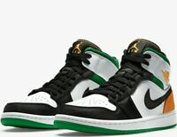 Nike Air Jordan 1 Mid SE Shoes Lucky Green SIZE 11.5 Men's NEW FREE-SHIPPING