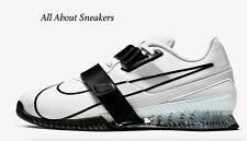 "Nike Romaleos 4 ""White/White/Black"" Men's Trainers Limited Stock All Sizes"