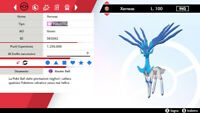 6IV Shiny Xerneas, Zygarde , Yveltal Pokemon Sword Shield Battle Ready Bundle
