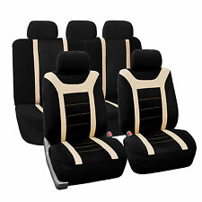 Sports Fabric Car Seat Covers Airbag compatible and Split Bench for CADILAC