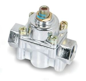 "Holley 12-803 High Pressure Fuel Regulator, 2-Port, 4-1/2 to 9 PSI, 3/8"" NPT"