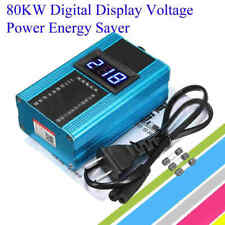 80KW 10-35% Energy Electricity Saver LED Power Saving Box Bill Killer 110V-230V