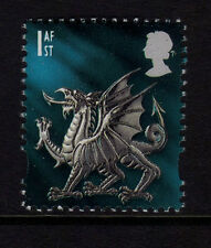 GB Wales 1999 Regional Definitive 1st SG W84 MNH