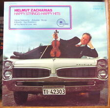 """ZACHARIAS&HIS ORCHESTRA """"HAPPY STRINGS, HAPPY HITS"""" PONTIAC CAR COVER FRENCH LP"""