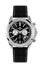 Polierte Armbanduhren mit Chronograph