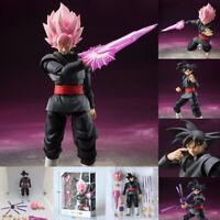 6'' Gokou Dragonball Z S.H.Figuarts Goku Black Super Saiyan Rose Action Figure