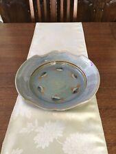 "15"" Porcelain Fish Platter Signed GP (Georgetown Pottery ) Fish Design"