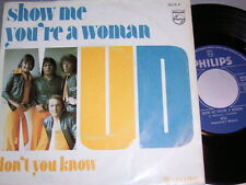 """7"""" - MUD / Show me you´re a Woman & Don´t you know - diff. Dutch 1975 # 0252"""