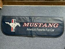 Vintage Ford Mustang Fender Cover Mechanic Paint Protector 40x24""