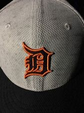 Detroit Tigers Hat 8 1/8 New Era 59FIFTY brand new Gray Navy Blue