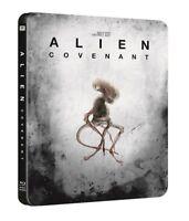 ALIEN COVENANT Steelbook 4K ULTRA HD + Blu-ray + Digital HD SOLD OUT OOP