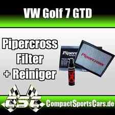 VW Golf 7/VII GTD 2.0 | 184PS | Pipercross Sportluftfilter/Tauschfilter