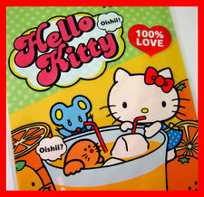 Hello kitty orange juice pop art candy cookie transpartent gift bag 15pc M