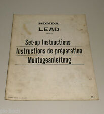 Montageanleitung Lead NH 80 Stand 1982