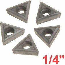 "1/4"" C6 Carbide Insert for Indexable Lathe Toolholder Triangle"