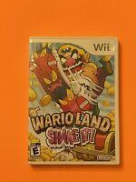 🔥 NINTENDO Wii 🔥 💯 WORKING GAME -  WARIO LAND SHAKE IT! - SUPER FAMILY FUN