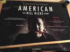 "UK Cinema Quad Poster ""AMERICAN The Bill Hicks Story"""
