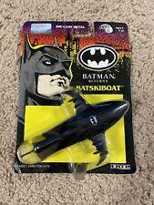 """Ertl~1991~""""Batman Returns""""~""""Batskiboat""""~Vintage~ Die-Cast Metal~New~NM"""