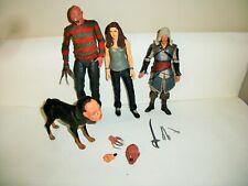 Neca Mcfarlane Freddy Krueger Assassins Creed Kenway Twilight Bella Figures Lot