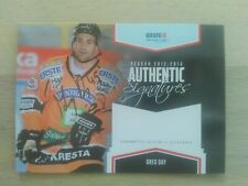 EBEL 2012/13 Authentic Signatures Greg Day Playercards Graz 99ers