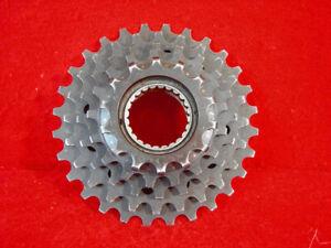 Maillard Freewheel 5 speed 14 - 28 Teeth French Threads Road Used