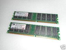 2X proMOS 256MB DDR-333MHz PC2700U-2533-0-A0 DESKTOP MEMORY V826632K24SATG-C0
