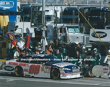 DALE EARNHARDT JR AMP ENERGY NATIONAL GUARD NASCAR PIT STOP CAR 8 X 10 PHOTO