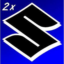 Suzuki S black white 450 decals 1000 stickers 1100 gsxr 85 rmz 600 gsxs 750 drz