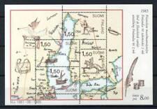 Finlande 1985 Mi. Bl. 1 Bloc Feuillet 100% ** Timbre montre, carte