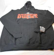 Anaheim Ducks NHL Fleece Hoodie Sweatshirt Big & Tall Size 2XLT 2XT Black New