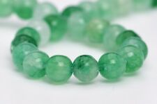 4MM Natural Green Jade Gemstone Beads Grade AA Round Loose Beads 7.5""
