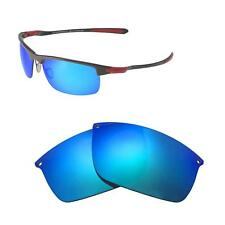 Walleva Ice Blue Polarized Replacement Lenses For Oakley Carbon Blade Sunglasses