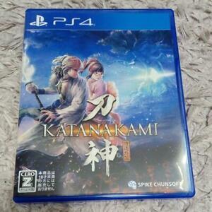 PS4 KATANAKAMI 4940261516628 Japanese version