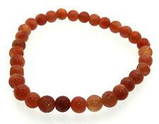 4mm Round Sunstone Gemstone Crystal Bracelet