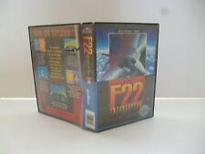 ☺ Jeux Mega Drive Sega Air Force F22 Interceptor Vendu Avec La Boite