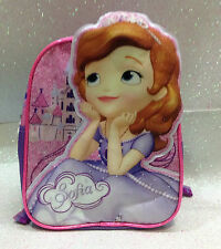 DISNEY PRINCIPESSA SOFIA THE FIRST ZAINETTO SCUOLA TEMPO LIBERO SCHOOL BACKPACK