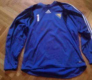 Goalkeeper Match Worn Jersey Handball BOSNIA & HERCEGOVINA National team
