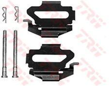 PFK344 TRW Kit d'accessoires, frein à disque Tampons Essieu Arrière