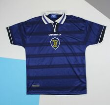 Scotland Home Football Shirt Jersey 1998 - 2000 Umbro (size L)