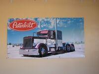 Peterbilt Trucks PVC Vinyl Banner Flag Poster Sign 1000x1800mm FREE DELIVERY