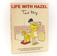 Ted Key  'Life with Hazel' E.P. Dutton & Co. 1965. 1st Ed, Signed w/ cartoon
