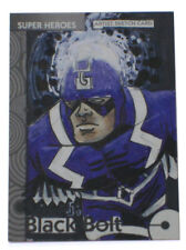 2013 Fleer Marvel Retro Black Bolt Sketch Base Card #1 Art Jamie Snell 1/1