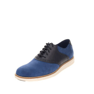 RRP €185 COLE HAAN Leather Oxford Shoes Size 40.5 UK 6.5 US 7.5 Brogue Trim