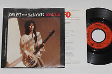 """JOAN JETT AND THE BLACKHEARTS -Good Music- 7"""" 45 mit Product Facts Promo-Flyer"""