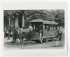 Classic Streetcars - Vintage 8x10 Publication Photograph - Georgia