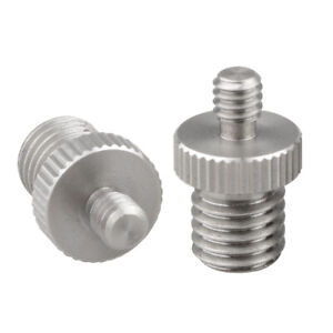 """CAMVATE 1/4"""" Male to M12 Male Double-end Screw Adapter for DSLR Rig"""